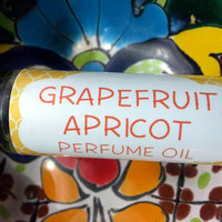 Grapefruit Apricot Perfume Oil ~ Roll On Oil