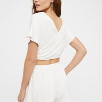 Free People Easy Street Wrapped One Piece