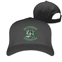 Yesher Geek Slytherin Quidditch Baseball Cap - Adjustable Hat - Black