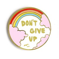 Don't Give Up Pin