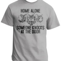 Home Alone And Someone Knocks - Envy My Tee