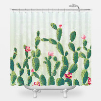 From the Desert Shower Curtain