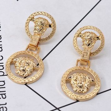 8DESS Versace Women Fashion Stud Earring