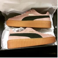 PUMA Women Casual Running Sport Shoes Sneakers Pink