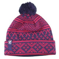 Nordic Navy Beanie by LRG