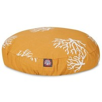 Coral Round Dog Bed by Majestic Pet Products