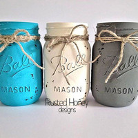 Mason Jar Rustic Decor