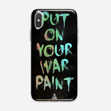 Fall Out Boy Lyrics Just One Yesterday iPhone XS Case