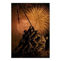 U.S. Marine Corps Memorial Print from Zazzle.com