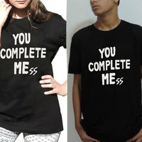 You Complete Mess shirt Celebrity inspired Luke Hemmings shirt in black five Seconds of Summer also lol ur not 5sos tee for men and women