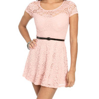 Illusion Sweetheart Lace Dress   Shop Dresses at Wet Seal