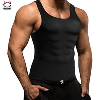 Gotoly Men's Slimming Neoprene Waist Trainer Vest Hot Sweat Shirt Shapers Body Shaper Corset For Men Sweat Workout Weight Loss