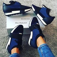 BaLenciaga Fashion Race Runners Sneaker Shoes