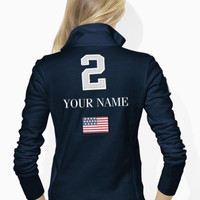 Skinny-Fit USA Track Jacket