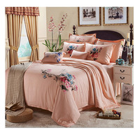 Silk ink and wash painting Duvet Quilt Cover Sets Bedding Cover Set 2.0M/2.2M Bed 01  Green