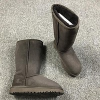 Ugg 5815 Brown Classic II Tall Boot Sheepskin Boots Snow Boots