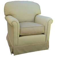 Angel Song 201821150Foam Monaco Vanilla Adult Continental Glider Rocker