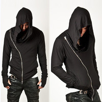 Fashion assassins creed Hooded Men Hoodies Male Causal Sportswear Outdoor  Outerwear Tracksuit Sweatshirt US Size  S-L