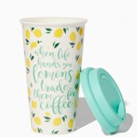 When Life Hands You Lemons Trade Them for Coffee Tumbler   Charming Charlie
