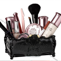 AnnSui Cosmetic Makeup brush Organizer case holder J12