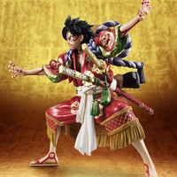 One Piece Portrait of Pirates Kabuki Luffy 1/8 Scale Figure Excellent Model Limited (Pre-Order)