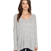 Culture Phit Zula Round Neck Waffle Top