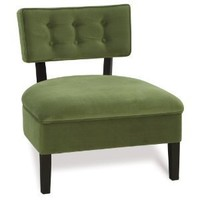 Avenue Six Curves Button Back Chair