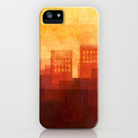 Sunny city iPhone & iPod Case by SensualPatterns
