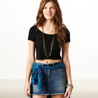 AE Cropped T-Shirt   American Eagle Outfitters