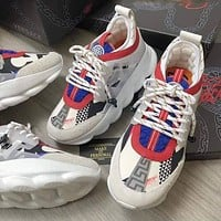 Versace Chain Reaction 2 High Quality Platform Cushioning Sneakers Shoes 1