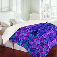 DENY Designs Home Accessories | Amy Sia Future Floral Blue Duvet Cover