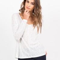 Long Sleeve V-Neck Shirt