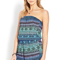 Easy Tribal Print Romper