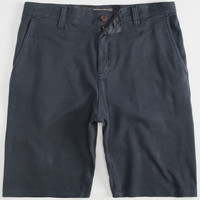 Charles And A Half Parker Mens Fleece Shorts Steel Blue  In Sizes