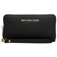 MICHAEL Michael Kors Specchio Jet Set Travel Flat Multifunction Wallet | macys.com