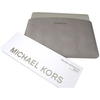 """Michael Kors Sleeve For Macbook Air for 13"""" Slim Design Grey Saffiano Leather"""