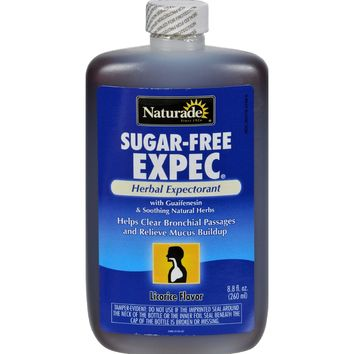 Naturade Sugar Free Expec Herbal Expectorant - 8.8 Fl Oz