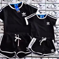Adidas: fashion casual sports suit With children