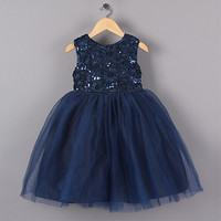 Sequined Tutu Ball Gown