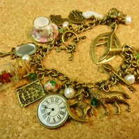 Deluxe Vintage style Beauty and the Beast charm by KyraBothwell