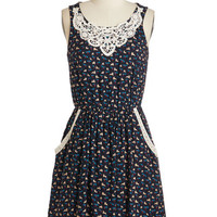 Mid-length Sleeveless A-line Hop! In the Name of Love Dress