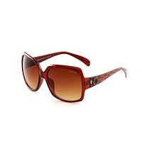 Coach Trending Women Men Stylish Casual Summer Shades Eyeglasses Glasses Sunglasses Brown I-BCYJSH
