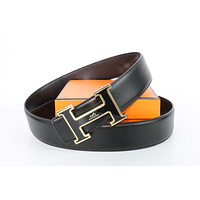 Hermes belt men's and women's casual casual style H letter fashion belt336