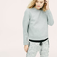 Lou & Grey Structure Sweatshirt | LOFT