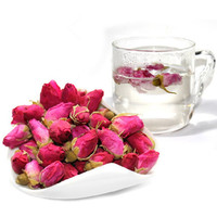 50g Anti-Aging Organic Red Rose-bud Rose Buds Flower Floral Herbal Dried Health Chinese Tea Afternoon Tea Women Ladys Favor