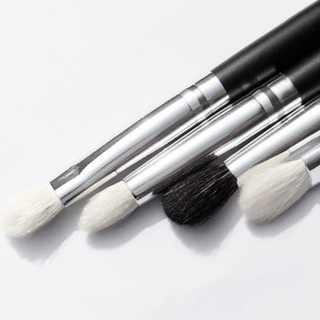 2017 4PCS Professional Makeup brushes set Cosmetic Eyeshadow Powder Foundation Blending Eyeshadow brush Pinceis de maquiagem
