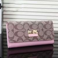 COACH Woman shopping  hand bag pink