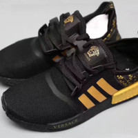 Adidas NMD x Versace Fashion Trending Leisure Running Sports Shoes