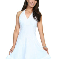 Scully Cotton Halter Dress
