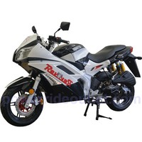 PRO Street Ninja MCR-06-150cc Roma Sports Bike, L.E.D Light, Upgraded Engine Component, Racing decal, Premium Black coated Aluminum Wheels, Fully Automatic Transmission (Fully Assembled Package available)